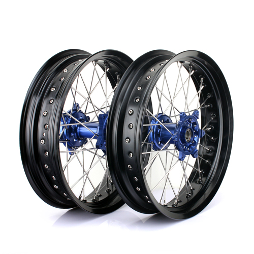 17 Inch Dirt BIke Spoke Wheels for Supermoto