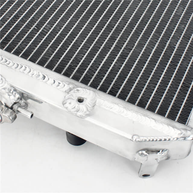 High Performance ATV Four Wheeler Aluminum Radiator For HONDA