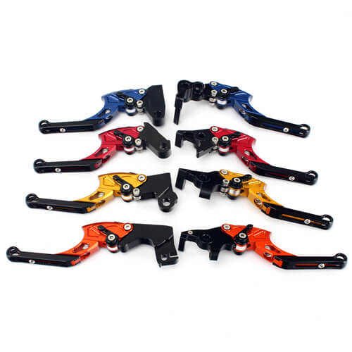 Anodized Aluminum Motorcycle Clutch Lever With Six Adjustment