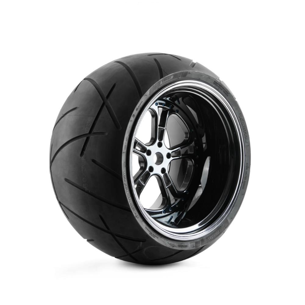 10-14 inch width Custom Aluminum wheels big wheels for harley