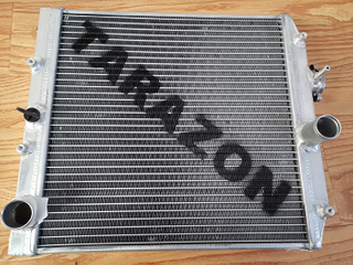 TARAZON Alloy Aluminum Polished Radiator for Honda Civic