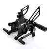 Aftermarket Motorcycle Adjustable Rearsets For Street Bike