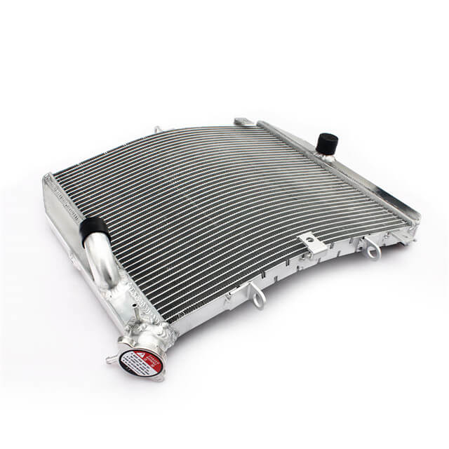 Custom Motorcycle Aluminum Water Cooling Radiation For Ducati
