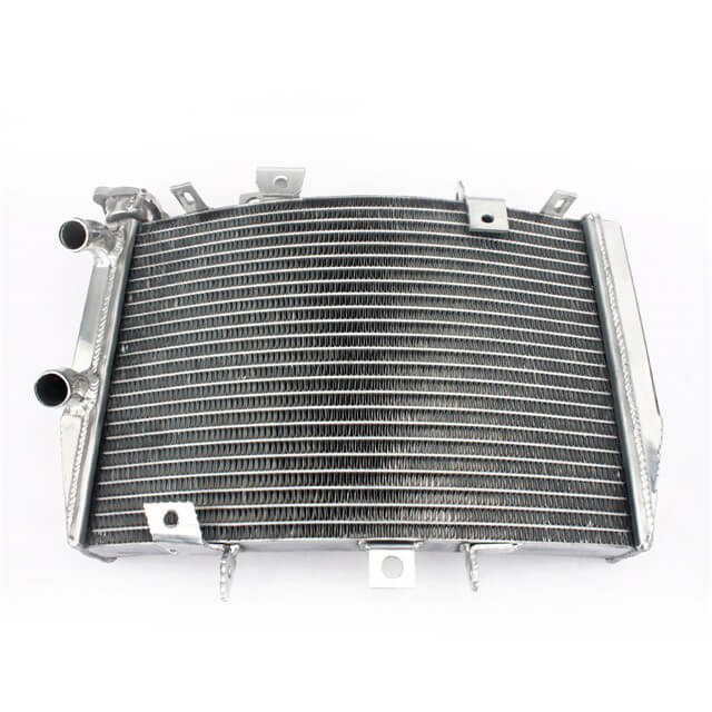 Custom Motorcycle Aluminum Water Cooling Radiation For Triumph