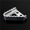 CNC Aluminum Motorcycle Oversized Step Plate for Brake Pedal
