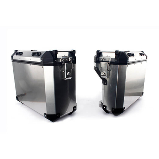 High Quality Aluminium Motorcycle Side Luggage Box