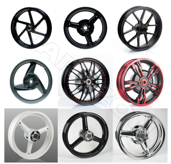 The Difference of the Motorcycle wheels